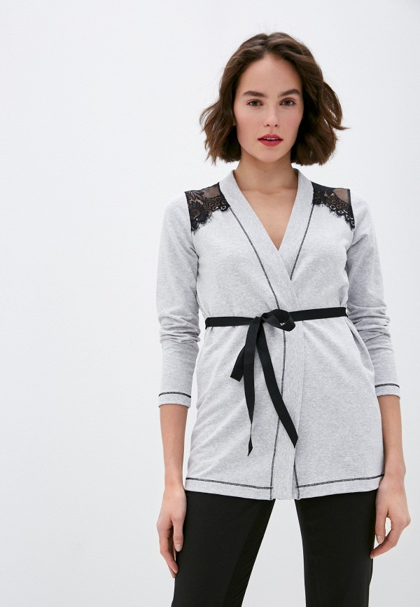 женский кардиган rinascimento, серый