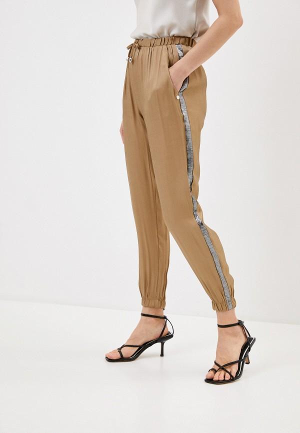 женские брюки rinascimento, бежевые