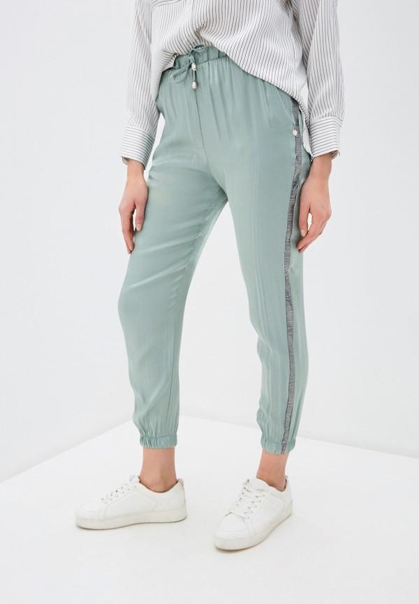 женские брюки rinascimento, бирюзовые