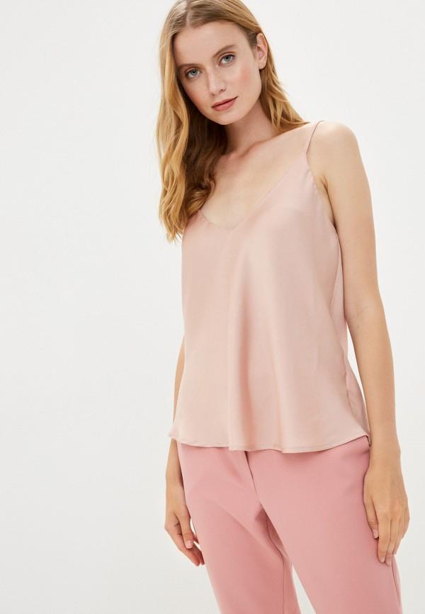 женский топ rinascimento, розовый