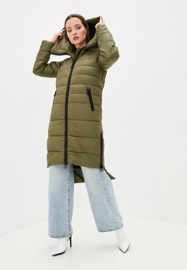 женская куртка rinascimento, хаки