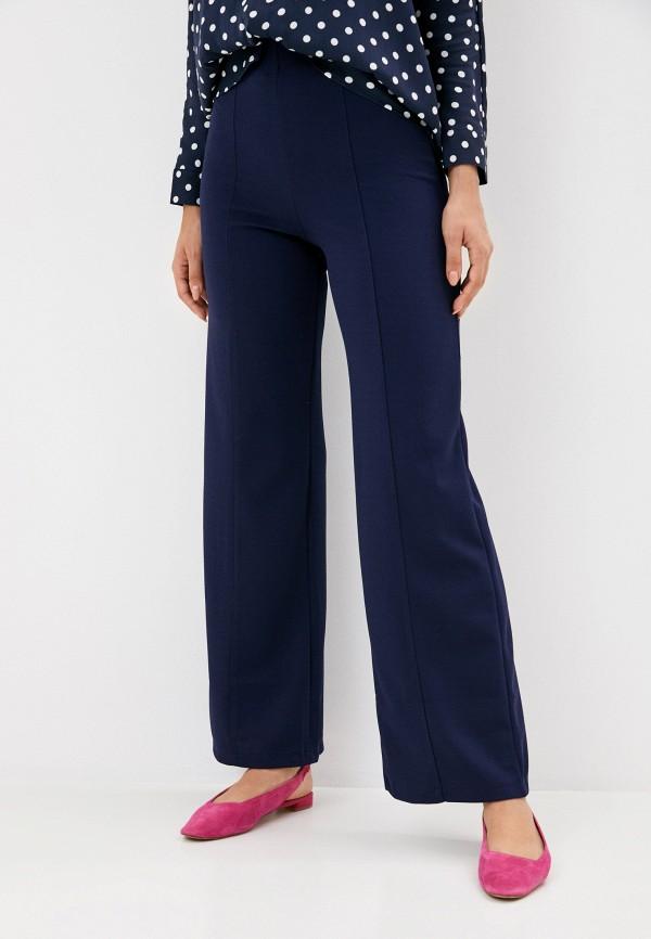 женские повседневные брюки rinascimento, синие
