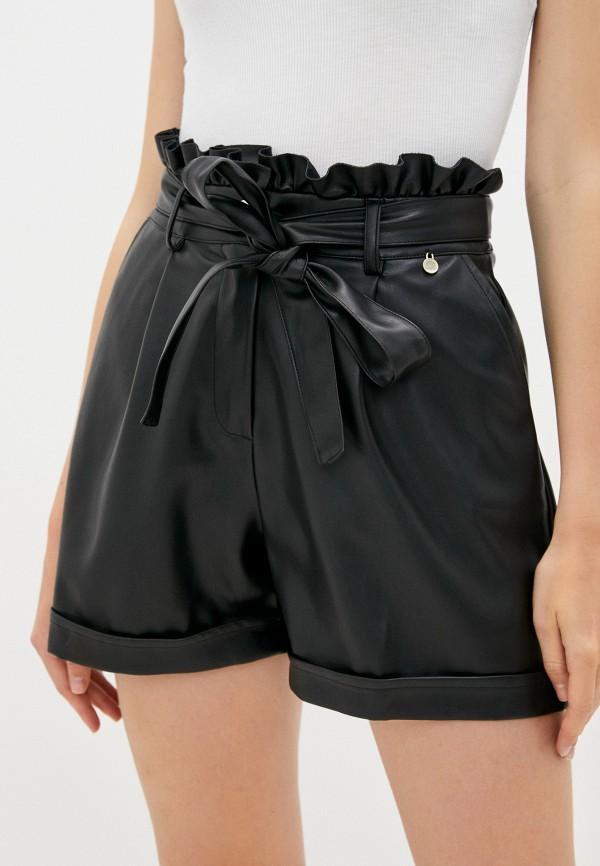 женские повседневные шорты rinascimento, черные