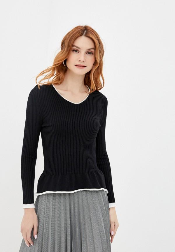 женский пуловер rinascimento, черный