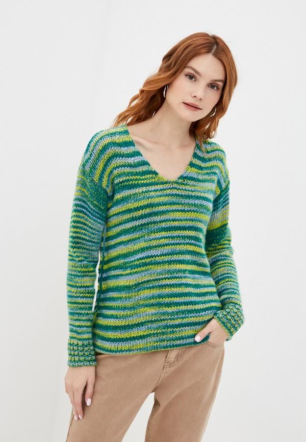 женский пуловер rinascimento, зеленый