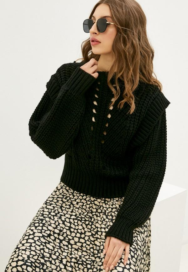 женский свитер rinascimento, черный
