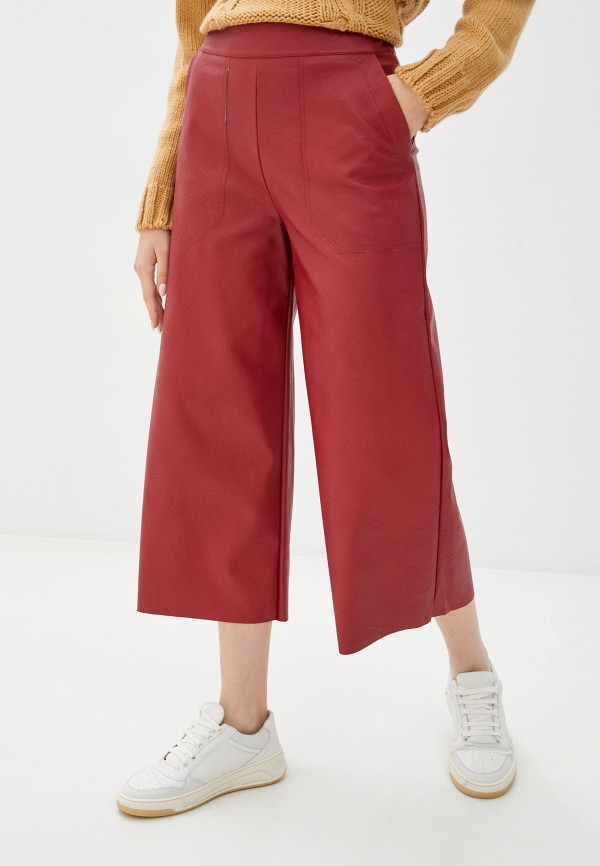 женские брюки rinascimento, красные