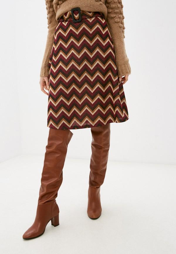 женская юбка rinascimento, разноцветная