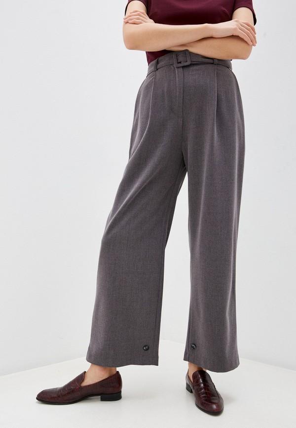 женские классические брюки rinascimento, серые