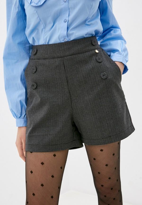 женские повседневные шорты rinascimento, серые