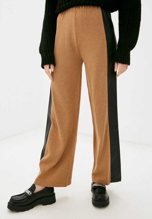 женские брюки rinascimento, коричневые
