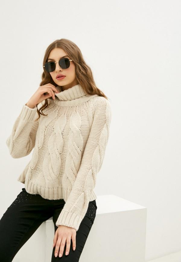 женский свитер rinascimento, бежевый