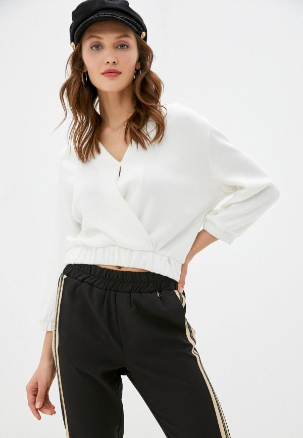 женский пуловер rinascimento, белый