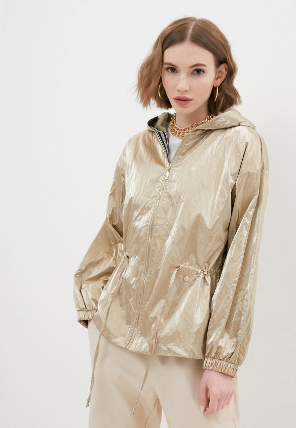 женская куртка rinascimento, золотая