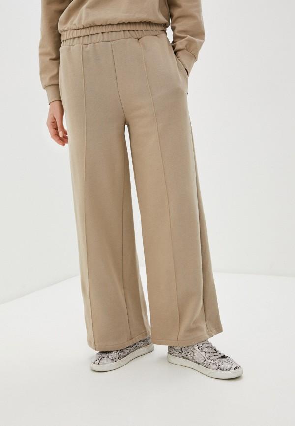 женские спортивные брюки rinascimento, бежевые