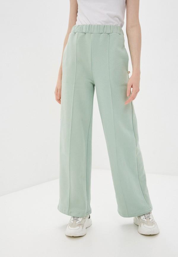 женские спортивные брюки rinascimento, зеленые