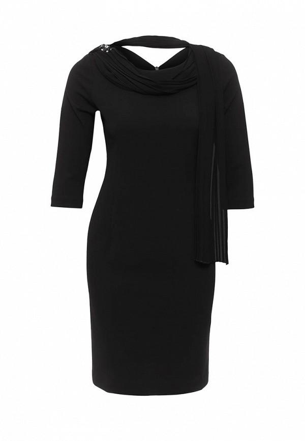женское вечерние платье rinascimento, черное