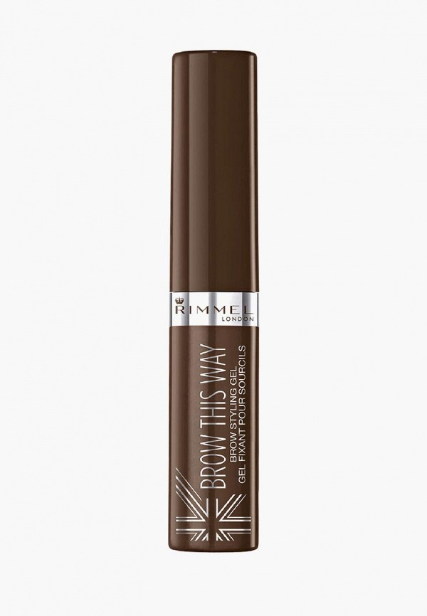 Гель для бровей Rimmel Rimmel RI030LWCAAS8 гель для бровей rimmel brow this way gel with argan oil 003 цвет 003 dark brown variant hex name 59453e