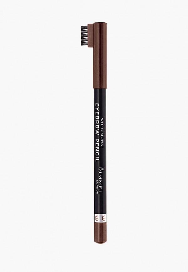 Карандаш для бровей Rimmel Rimmel RI030LWCAAU4 rimmel rimmel палетка теней для век magnif eyes 002