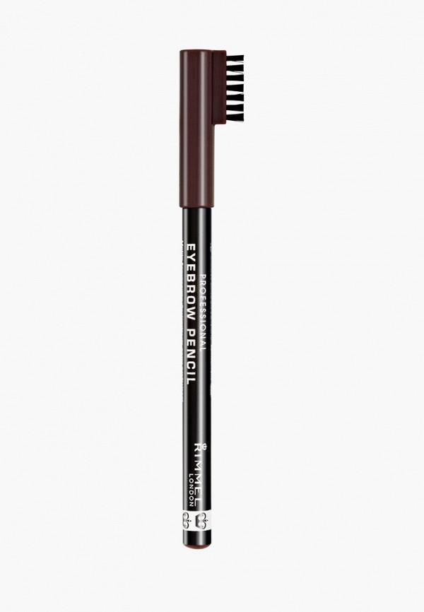 карандаш для бровей rimmel, коричневый