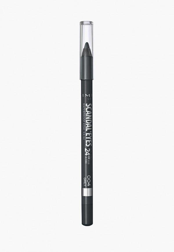 карандаш для глаз rimmel, серый