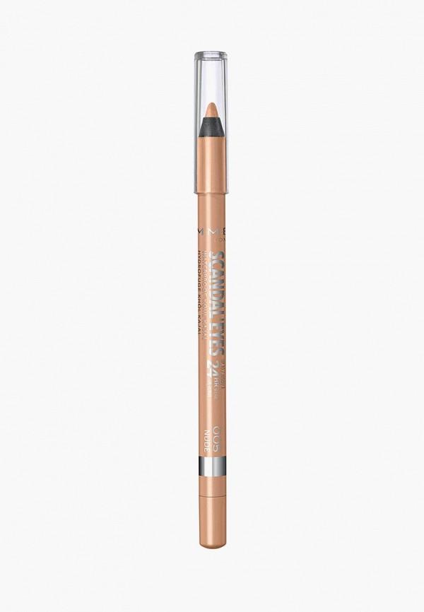 карандаш для глаз rimmel, бежевый