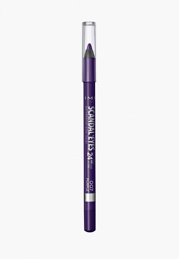 карандаш для глаз rimmel, фиолетовый