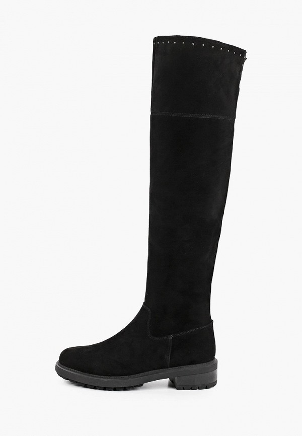 женские ботфорты rita bravuro, черные