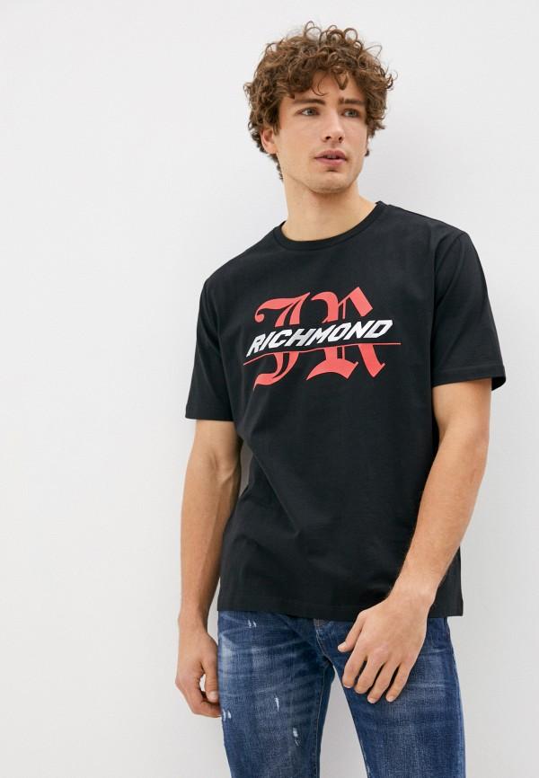 мужская футболка richmond sport, черная