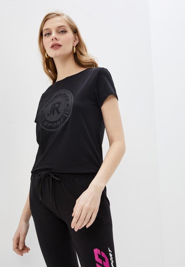 женская футболка richmond sport, черная