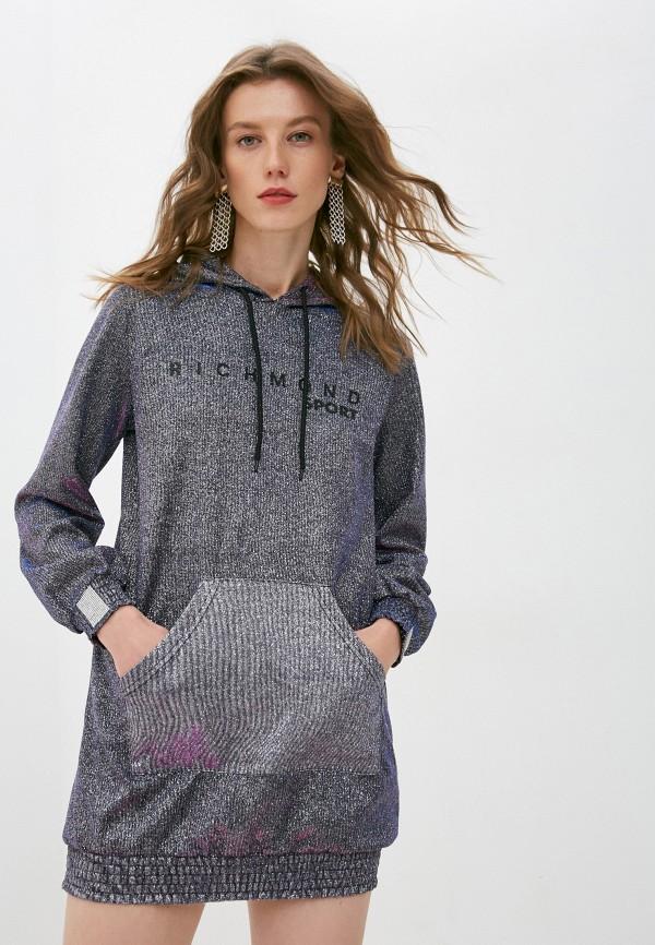 женское платье richmond sport, серебряное