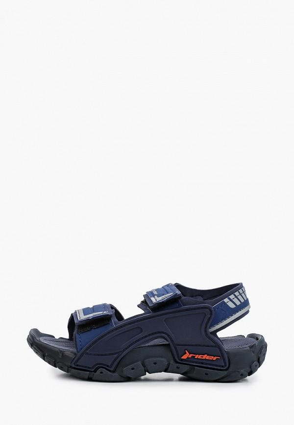сандалии rider для мальчика, синие
