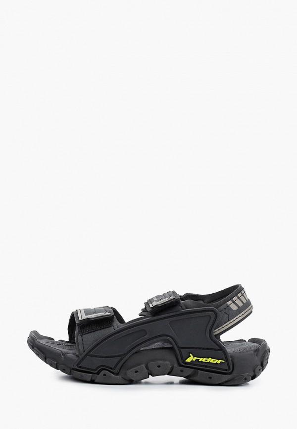 сандалии rider для мальчика, черные