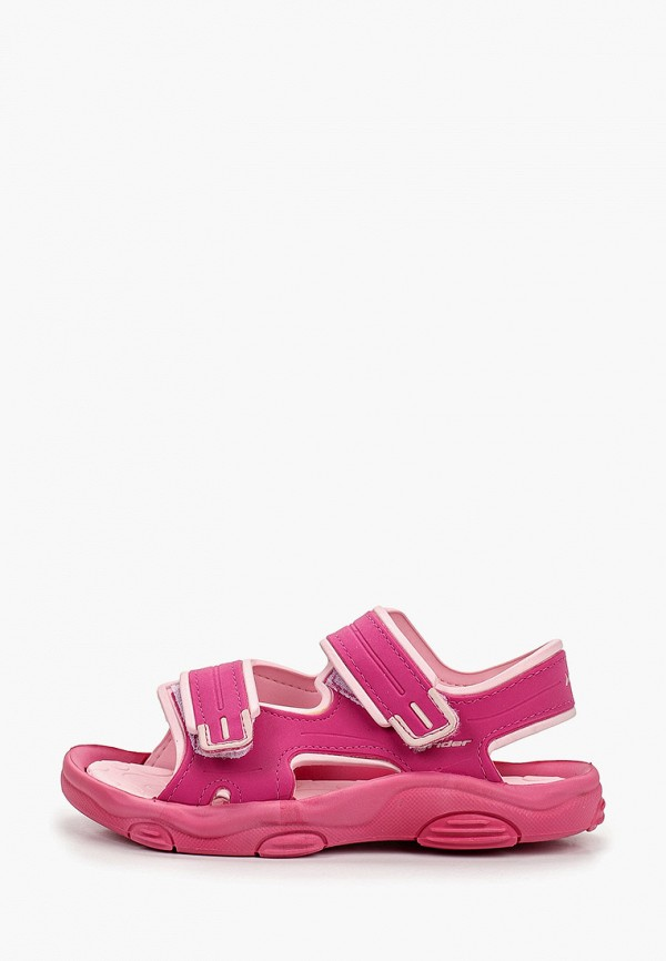 сандалии rider для девочки, розовые