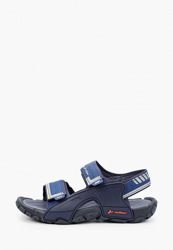 мужские сандалии rider, синие