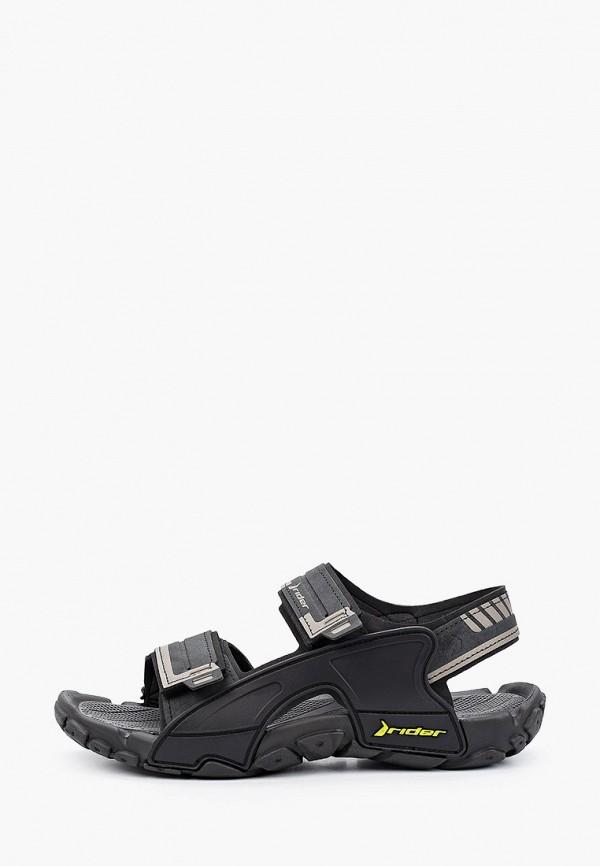 мужские сандалии rider, черные