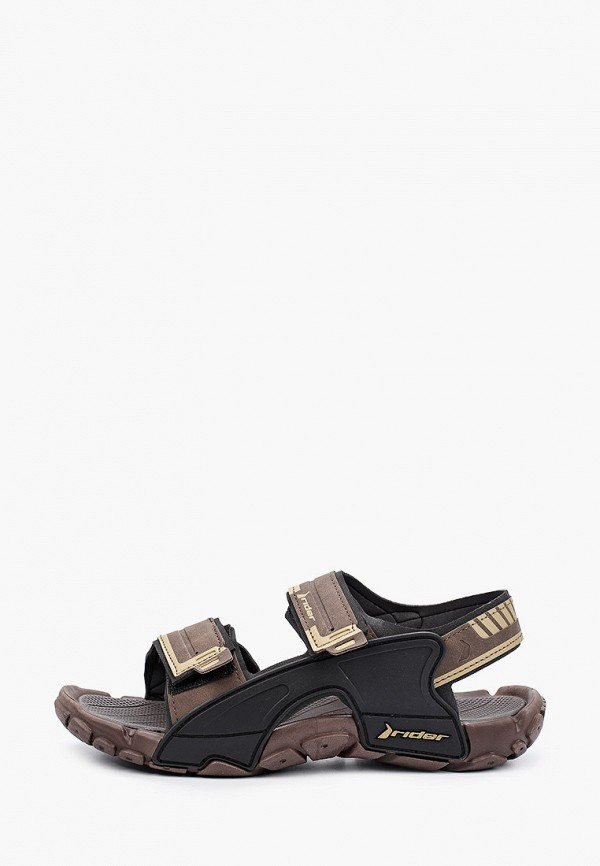 мужские сандалии rider, коричневые