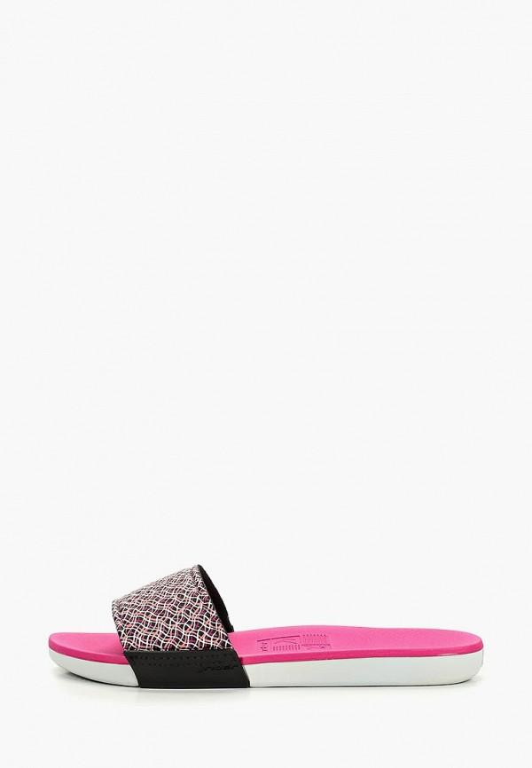 женское сабо rider, розовое