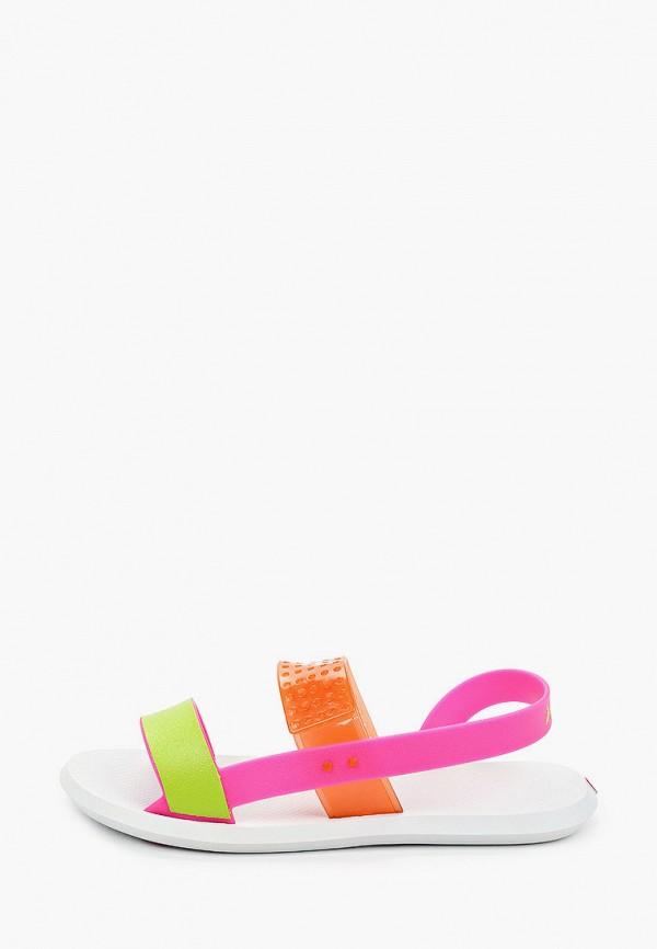 женские сандалии rider, разноцветные