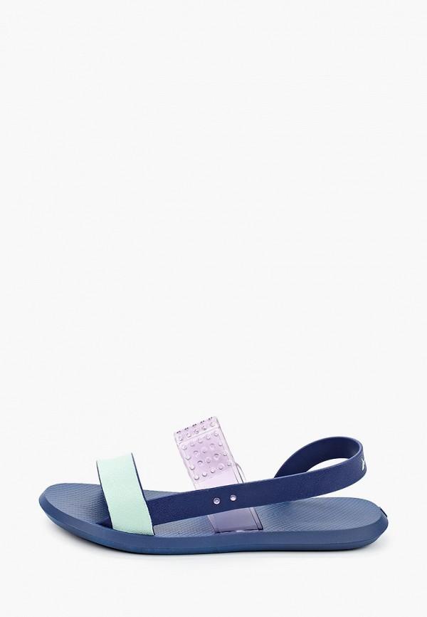 женские сандалии rider, синие