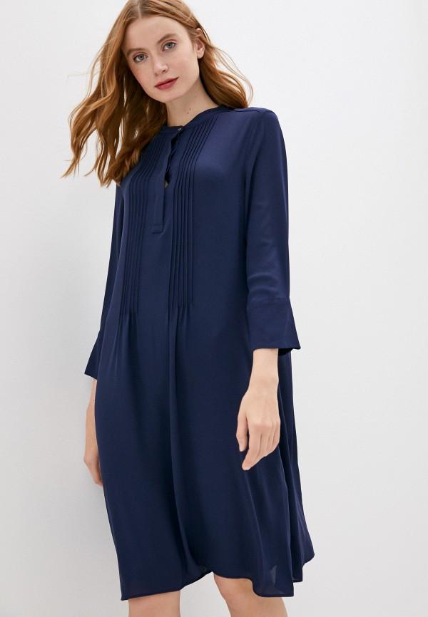 женское повседневные платье rich&royal, синее