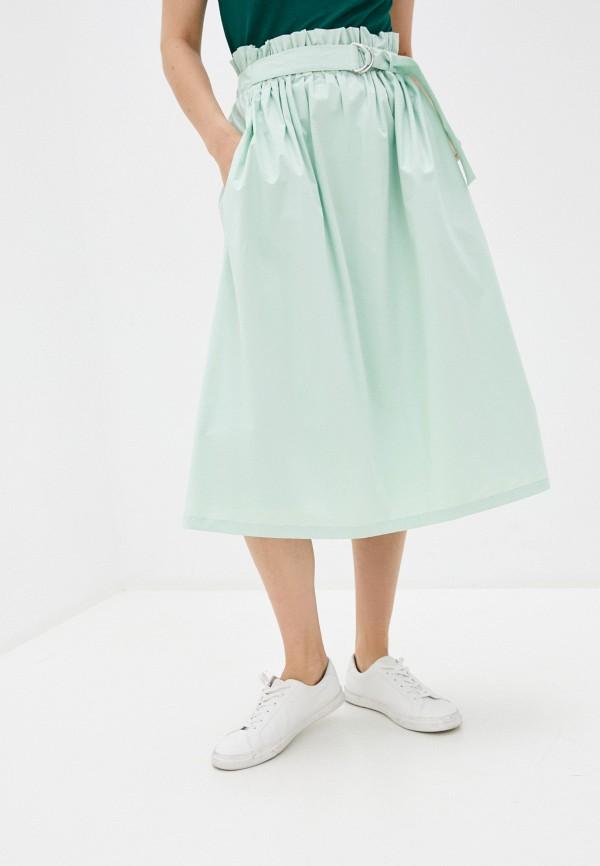 женская юбка rich&royal, зеленая