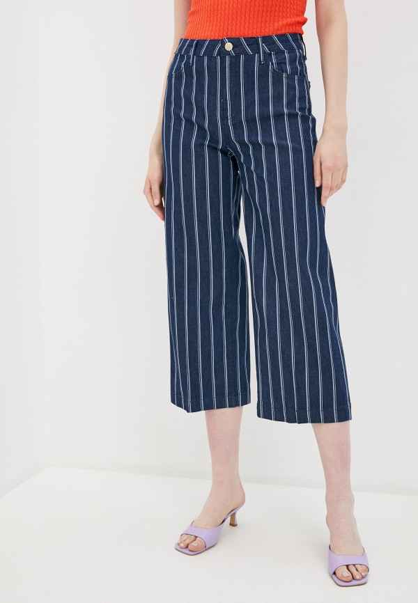 женские брюки rich&royal, синие