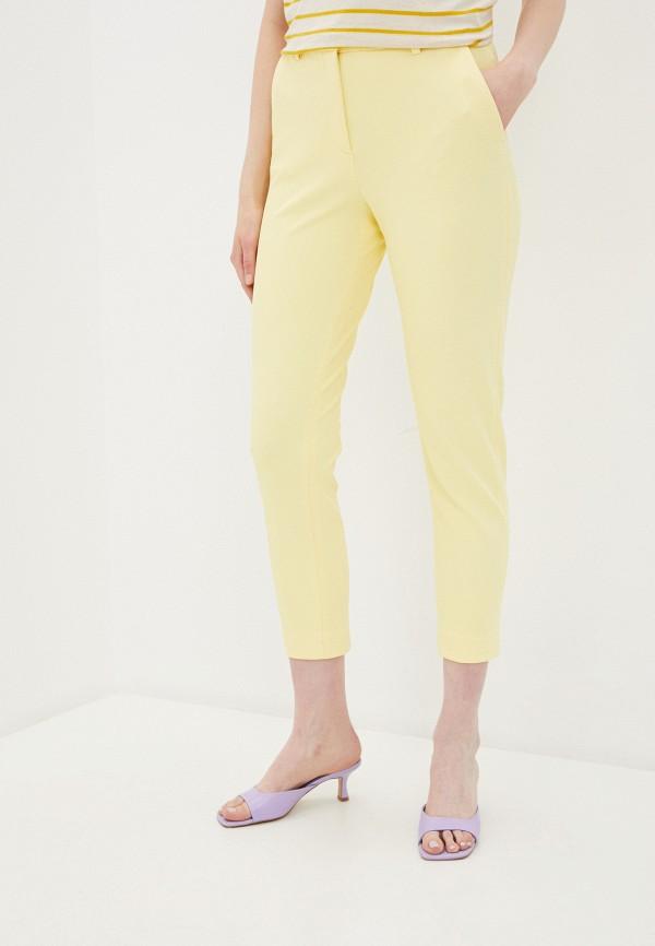женские повседневные брюки rich&royal, желтые