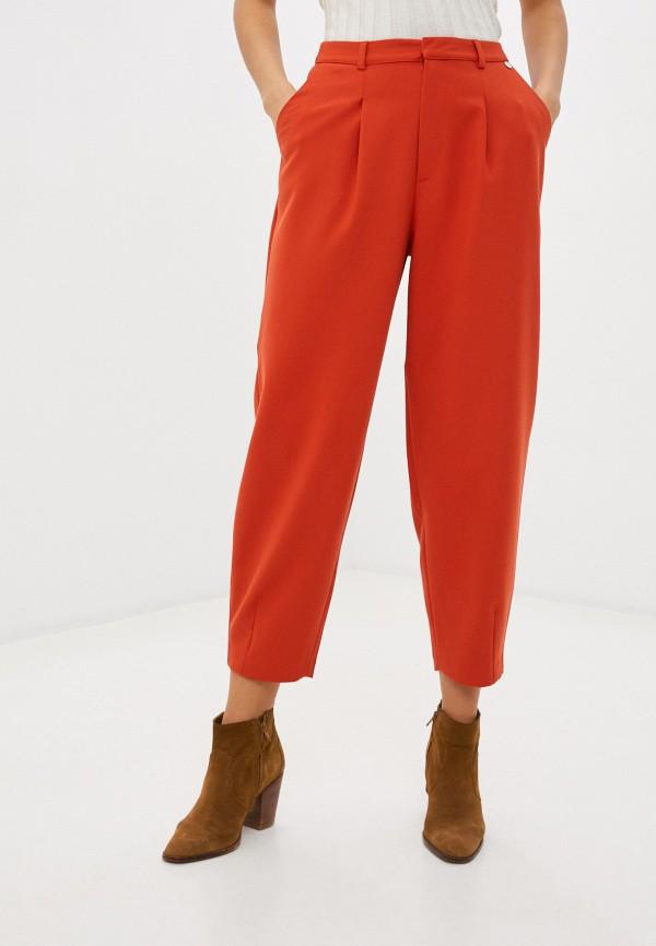 женские повседневные брюки rich&royal, оранжевые