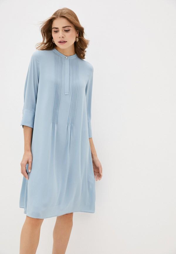 женское повседневные платье rich&royal, голубое