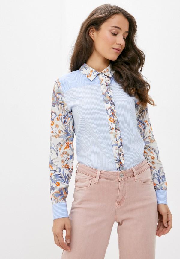 женская блузка rich&royal, голубая