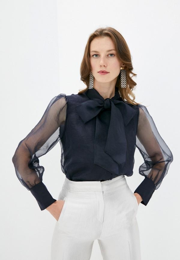 женская блузка rich&royal, синяя