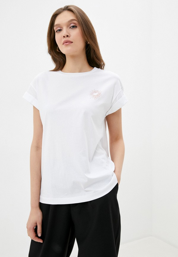 женская футболка rich&royal, белая