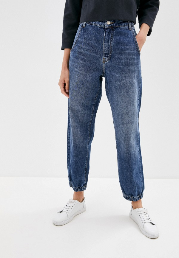 женские джинсы клеш rich&royal, синие